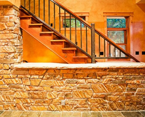 1020-stairs by Skywalker Construction Durango Colorado