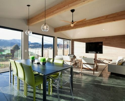 Clair Commercial Build By Skywalker Construction in Durango Colorado