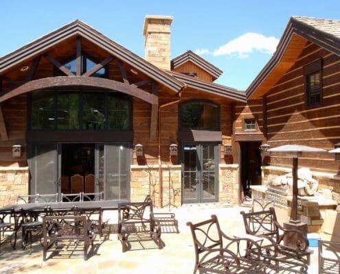 Aspen Custom Home by Skywalker Construction Durango Colorado