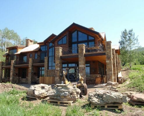 Aspen Custom Home by Skywalker Construction Durango Colorado