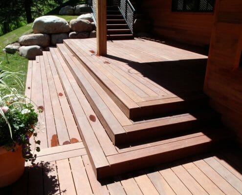 Deck by Skywalker Construction Durango Colorado