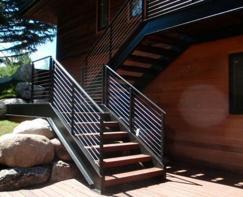 Stairs by Skywalker Construction Durango Colorado