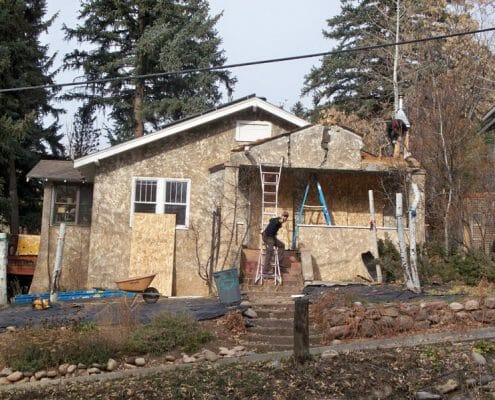 Adams Renovation by Skywalker Construction Durango Colorado