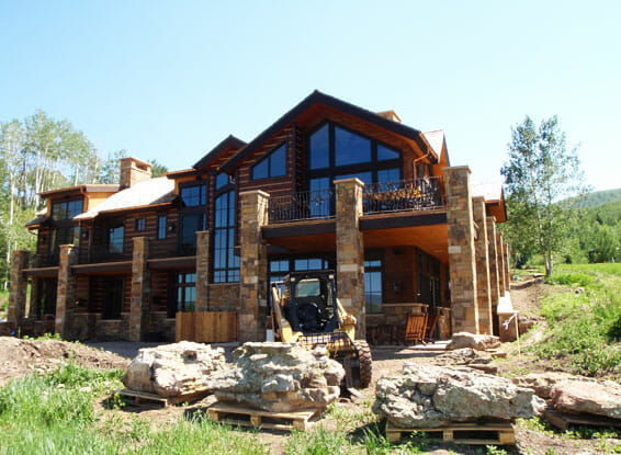 Aspen Custom home build by Skywalker Construction Durango Colorado