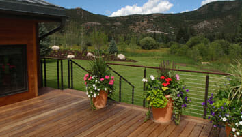 Deck Build by Skywalker Construction in Southwest Colorado