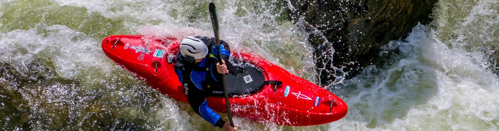 Luke Hanson Kayaking